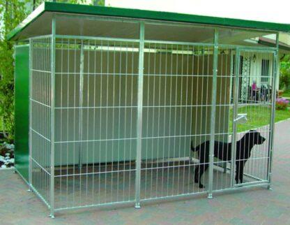 Box per cani coibentato cm 285 x 195 x 200 h