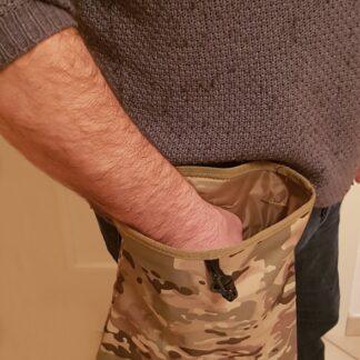 Sacca mimetica grande porta tartufo cm 25 x 30