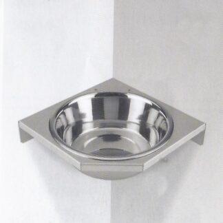 Porta Ciotole ad angolo per ciotola conica da cm 25