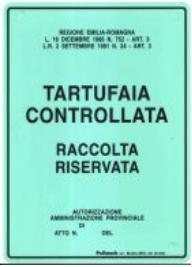 Tartufaia Controllata emilia romagna